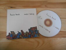 CD Indie Howie Beck-Maybe I Belong (1) canzone PROMO Labels/EASY Tiger
