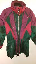 DESCENTE Vintage Ski Jacket Winter Coat Ski Men's Small 80s 90s Women's Large