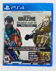 Call of Duty Warzone Gilded Age III 3: Pro Pack PS4 Brand New Factory Sealed