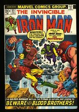 Iron Man #55 VG/FN 5.0 1st Thanos! Marvel Comics