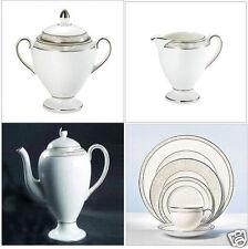 Wedgwood Icing Coffee Pot 1.6 Qt. Fine Bone China by Vera Wang Made England New