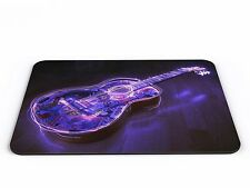 Guitar With Light Effect Computer PC Mousemat - Brand New