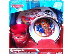 Cars Catch My Drift Mealtime Dinnerware Set Includes Plate Bowl and Cup-New!