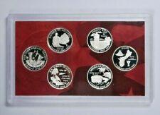 6 GEM Proof Coins 2009-S US QUARTER PROOF SET ORGINAL MINT PACKAGING