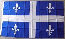 CANADA QUEBEC POLYESTER INTERNATIONAL COUNTRY FLAG 3 X 5 FEET
