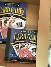 Hoyle Card Games 2002 For Computer With 152 Pg Book&CD