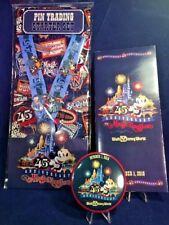 Disney 45th Magic Kingdom 4 pin Starter Set & Lanyard, Map and Button Pin