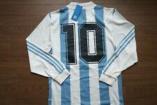 Argentina Soccer Jersey #10 Maradona 100% Official Reissue Repro Size Jaspo S