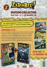 ZATCH BELL Zatchbell, Vol. 2 - 1 DVD + 1/2 MANGA - NEUF -
