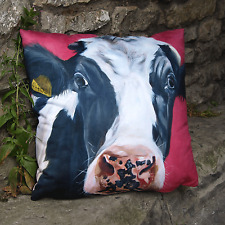 High Quality Highland cow cushion, by Thuline 'Monarch of the Glen'Home Deco