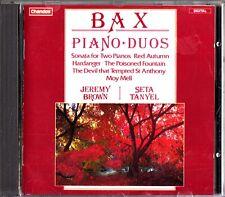 BAX- Piano Duos- Sonata/Red Autumn/Moy Mell- CD- Jeremy Brown/Seta Tanyel