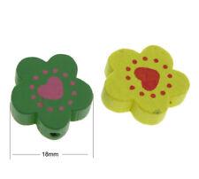 30 super hübsche Edelresin Perlen bunter Mix 8-10 mm Loch 1 mm Perlen basteln