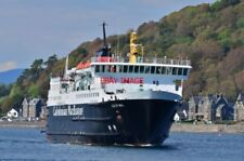 PHOTO  CALEDONIAN MACBRAYNE ISLE OF MULL IN OBAN BAY WITH HER BERTH NOW FREE THE
