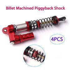 4x 110mm Billet Machined Piggyback Shock For 1/8 1/10 TAMIYA CC01 Rock Crawler