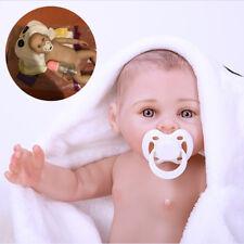 Reborn Baby Dolls 18Inch Fashion Full Silicone Vinyl Bebe Realistic Princess