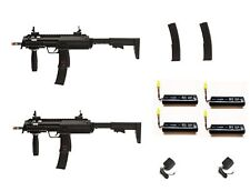 Refurbished MP7 Airsoft Duelers Kit with Extra Mags and Batteries! Free Ship!