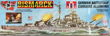 Bismarck Kriegsschiff German Battleship 1:350 Model Kit Bausatz Lindberg 70825