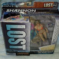 NIB 2006 Lost TV Series Shannon Talking Figure Island Map McFarlane toy Season1