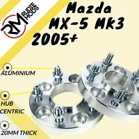 Mazda MX-5 MK3 2005 Onwards 5x114.3 67.1 20mm Hubcentric wheel spacers UK MADE