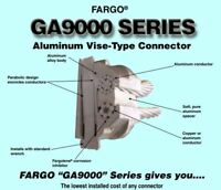 Hubbell Fargo GA9041 GA9041L Single Bolt Aluminum Vise-type Connector GA9000