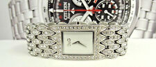 Dolce & Gabbana DW0076 Crystals Silver Tone Dial St. Steel Dress Women's Watch