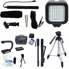 7-Piece Video & Mic Filmmaker Kit for Nikon D3X D4S D4 Df DSLR Cameras