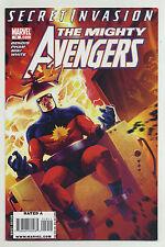 Mighty Avengers #19 2008 Secret Invasion Brian Michael Bendis Khoi Pham Marvel o