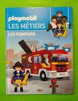 """Livre Playmobil - Les métiers """"les pompiers"""""""