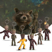 Marvel Guardians of the Galaxy aveugles sac porte-clé keychain Groot Rocket Raccoon