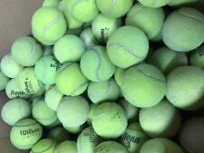 120 Heavily Used Tennis Balls - Free Ground Shipping - Dog Toys