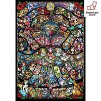 New Disney 1000 Piece Jigsaw Puzzle  & Pixar Heroine Collection F/S from Japan