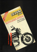 Suzuki GT500 (1976 >>>) Pitman Shop Manual Book GT 500 Twin Dresda Allspeed BV59