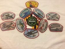 Mint 2017 National Jamboree 11 Piece JSP Set Baltimore Area Council Aviation