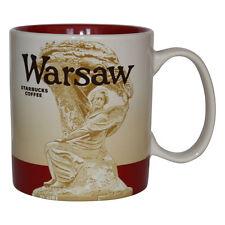 Starbucks City Mug Warsaw Varsovia Polonia Coffee Cup Poland Pott taza de café