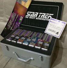 Star Trek Next Generation Seasons 1-7 Deutsche Silberboxen Neu OVP Sea. + Koffer