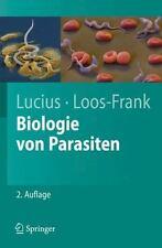 Biologie Von Parasiten (Paperback or Softback)