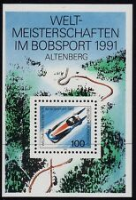 Germany 1991 World Bobsleigh Track Championship SG MS2344 MNH