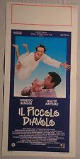 Locandina IL PICCOLO DIAVOLO 1°ED.ITAL.1988 ROBERTO BENIGNI WALTER MATTHAU