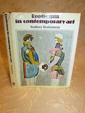 Vintage Book Of Eroticism In Contemporary Art, By Volker Kahmen-1972