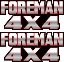 Foreman 4x4 Red Gas Tank Graphics TRX 450 400 500 Decal Sticker Atv Quad Fender