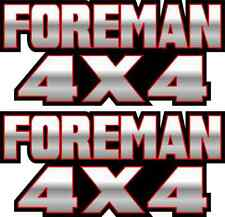 Foreman 4x4 Red Gas Tank Graphics TRX 450 400 500 Decal Sticker Atv Quad Fender