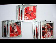 14 PACKS Michael Jordan Chicago Bull stickers 1998 Upper Deck NBA basketball lot