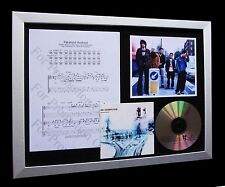 RADIOHEAD Paranoid Android TOP QUALITY CD FRAMED DISPLAY-EXPRESS GLOBAL SHIPPING