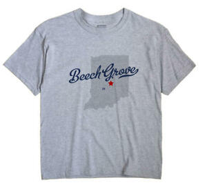 Beech Grove Indiana IN Ind T-Shirt MAP