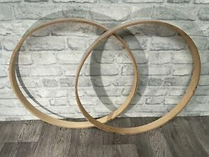 """Mapex Bass Drum 22"""" Wooden Hoops Rims Hardware Tension"""
