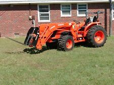 Kubota Tractor Mx4800 With Front Loader And 7 Attachments 50hp 4x4 Used