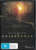 OBSERVANCE - NEW DVD - FREE LOCAL POST