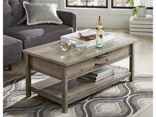 Better Homes & Gardens Modern Farmhouse Lift-Top Coffee Table Rustic Gray