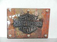 OEM Harley-Davidson Made Plate Metal Tin Sign Embossed New Shop Bar Garage