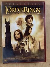 The Lord of the Rings: The Two Towers (Dvd, 2003, 2-Disc Set, Full)